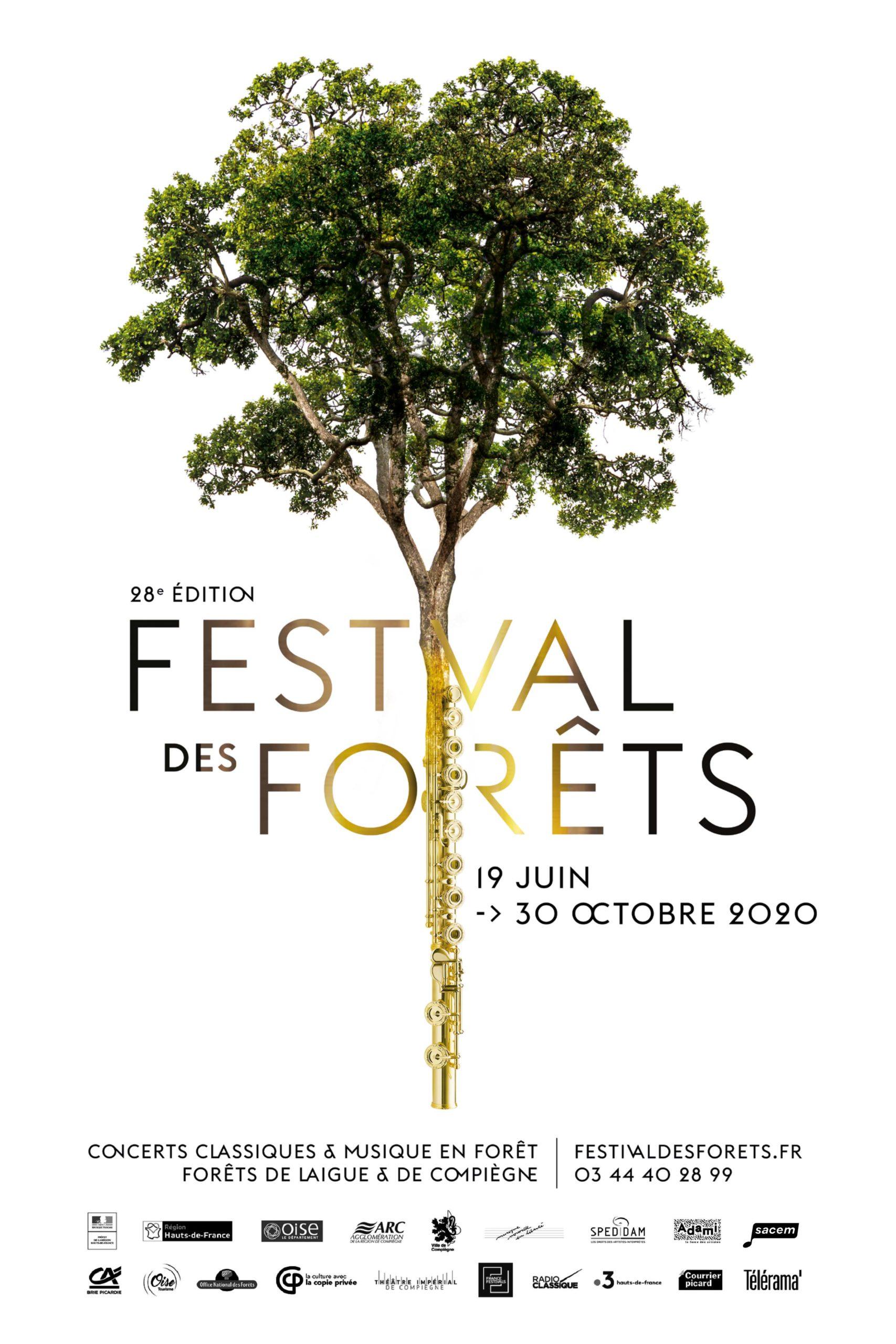 Festival des Forêts - 28ème édition, 19 juin au 30 octobre 2020